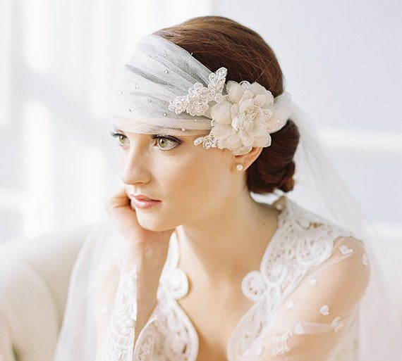 beautiful bridal headpiece 3