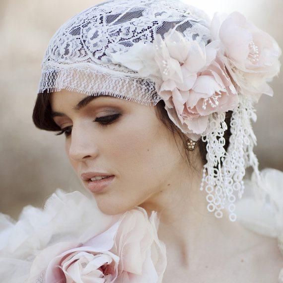 beautiful bridal headpiece 4