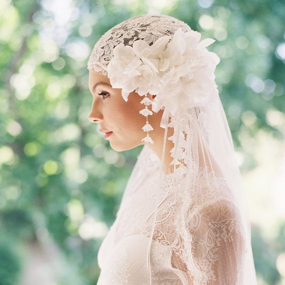 beautiful bridal headpiece 5