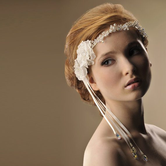 beautiful bridal headpiece 9