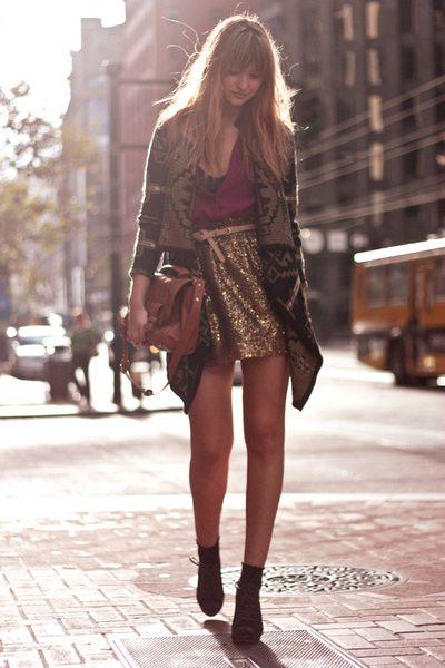 black-asos-sweater-gold-jcrew-skirt-maroon-sparkle skirt