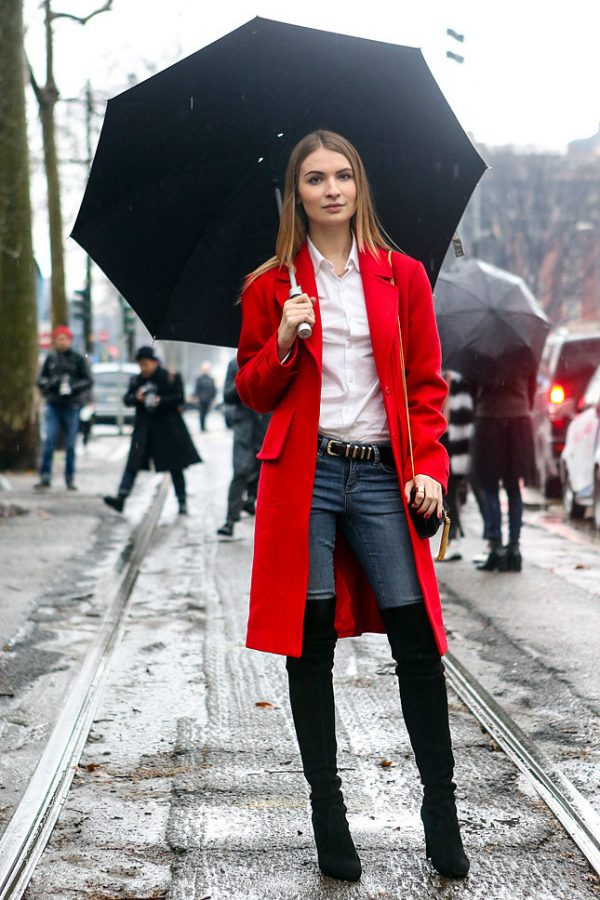 classy street style milan 2014
