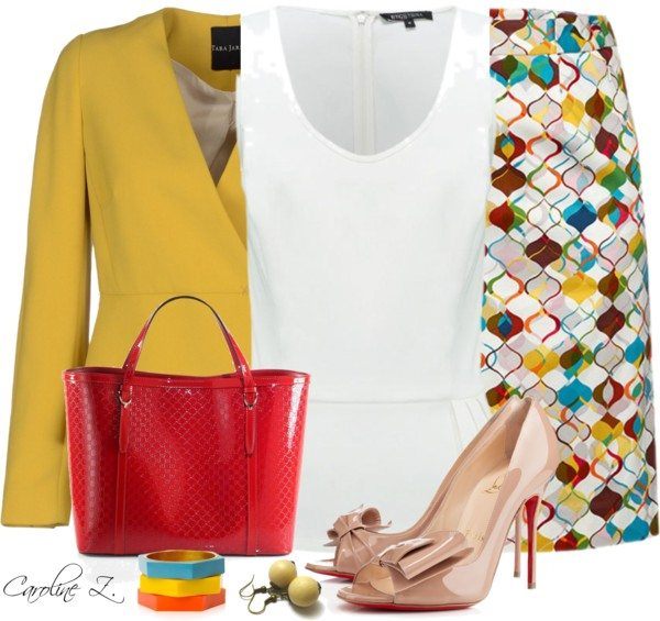 colorful outfit in easter day bmodish.com