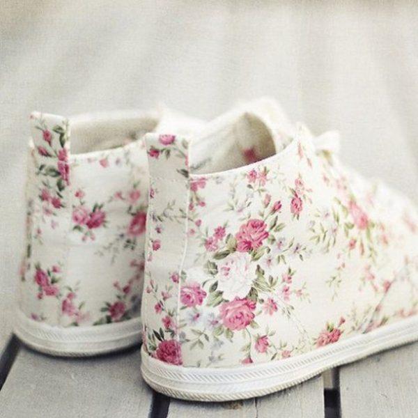 cute floral summer converse