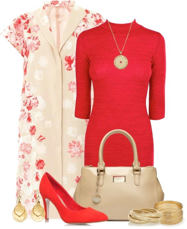 cute red coral for easter 2014