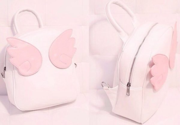 cute sweetheart angel wings bag