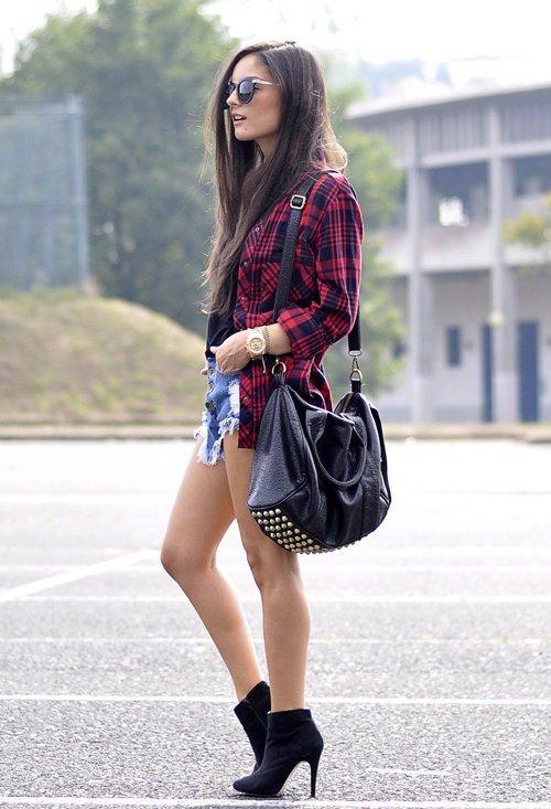 embellished short spring outfit 2014