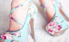 flower-blue-pink-high-heels