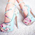 flower-blue-pink-high-heels