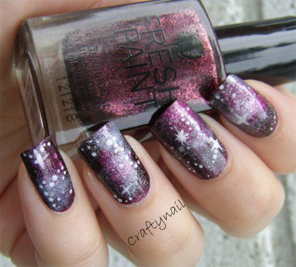 fuchsia_galaxy_nail_art
