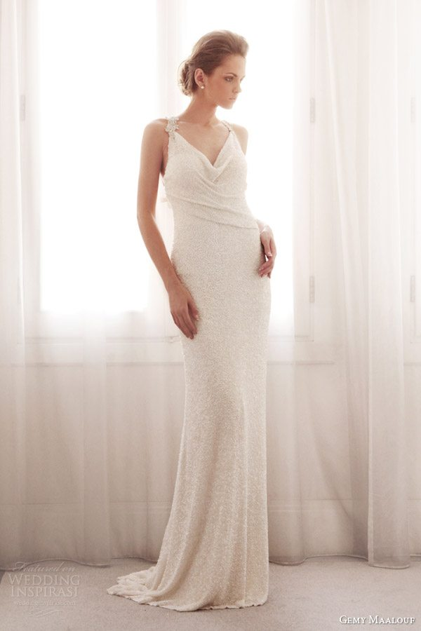 gemy-maalouf-2014-wedding-dress-cowl-neck-3760
