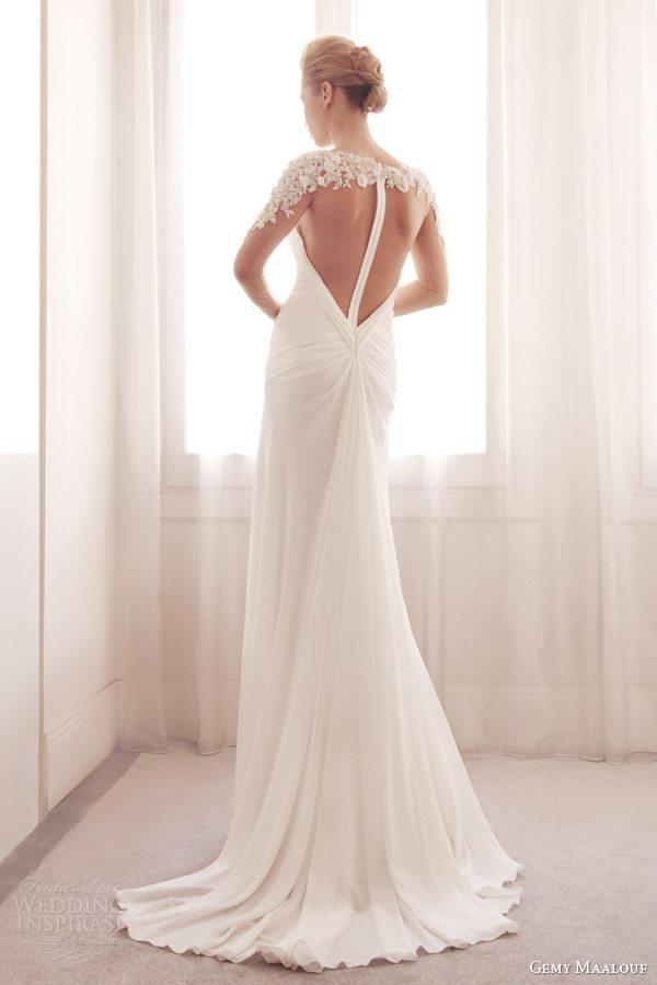 gemy-maalouf-bridal-2014-wedding-dress-illusion-long-sleeve-3727-illusion-back-train