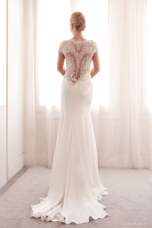 gemy-maalouf-wedding-dress-2014-bridal-gown-3711-illusion-lace-back