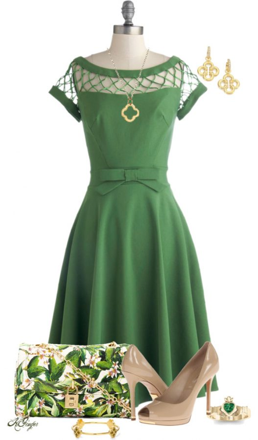 green easter outfit ideas