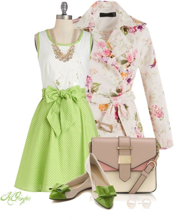 happy easter outfit polyvore