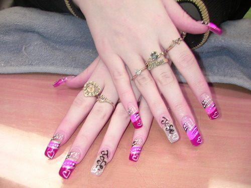 love-acrylic-nails-art
