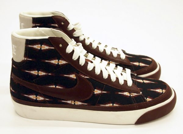 nike blazer brown aztec