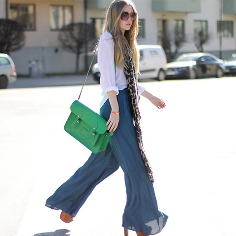 outfit with palazzo 1