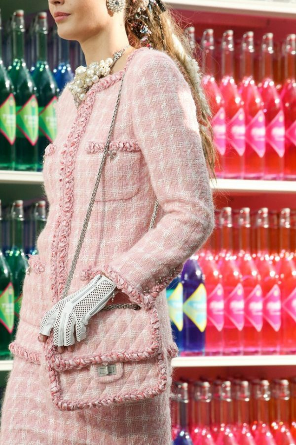 pink crossbody chanel bag
