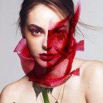 red and orange spring summer makeup trends 2014