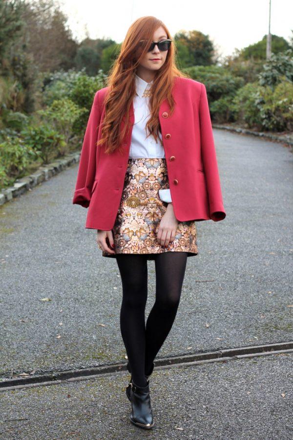 retro sparkle skirt