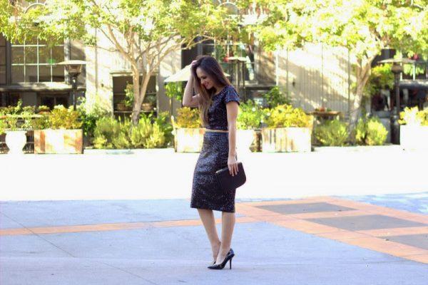 sequin sparkle skirt