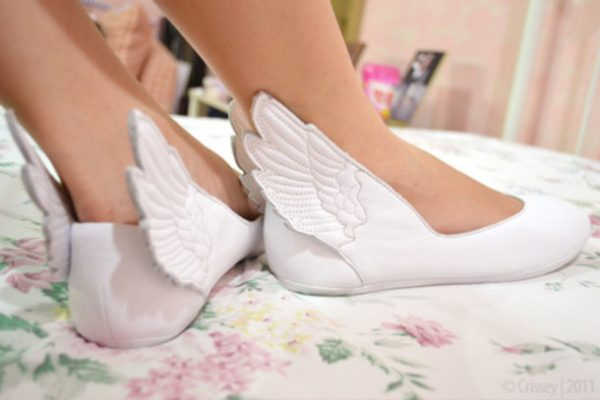 shoes-white-flats-angel-wings-leather