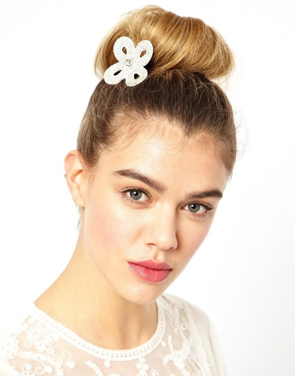 simple hair bun accessories