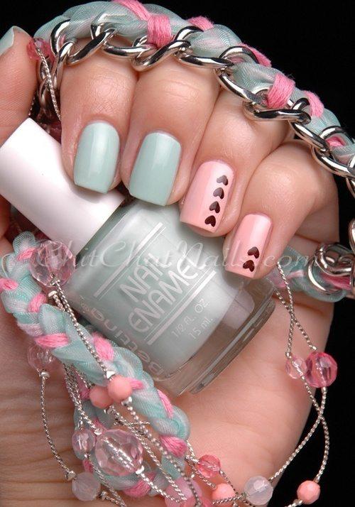 valentine nail design weheartit