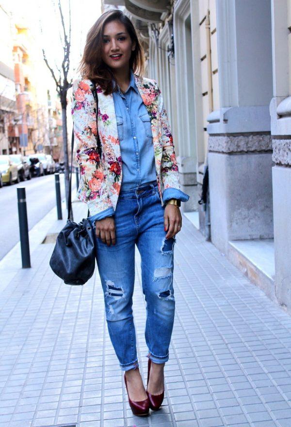 zara-blazers-boyfriend fit jeans