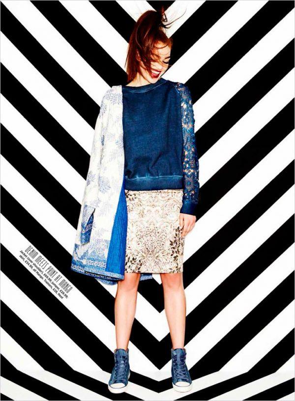 kyla moran blue outfits