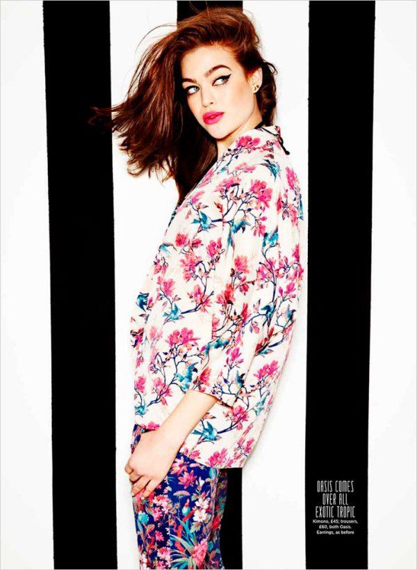 kyla moran floral outfits