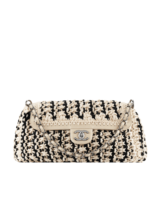Braided Cord Accordion Handbag