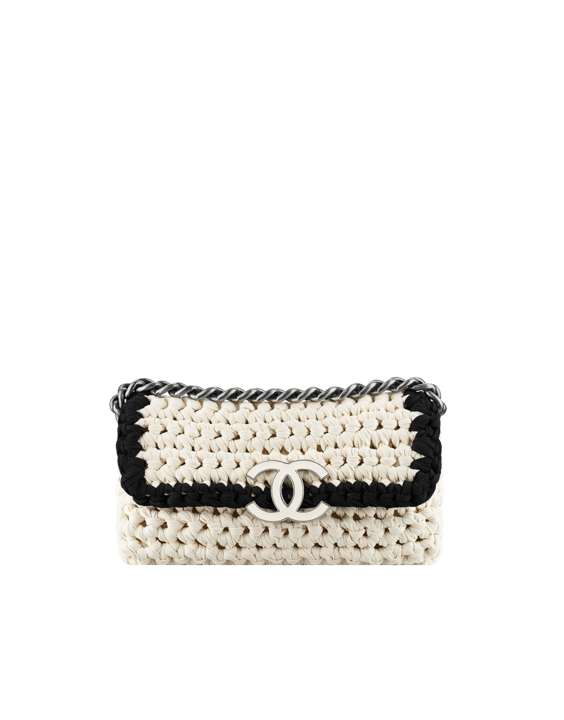 Crochet Flap Bag