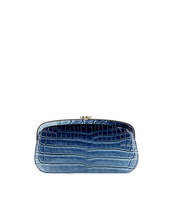 Faded Alligator Clutch