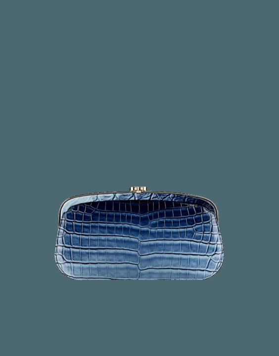 Faded Alligator Clutch