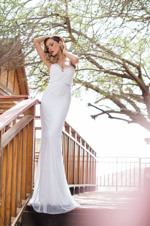 julie vino wedding dress Vanessa