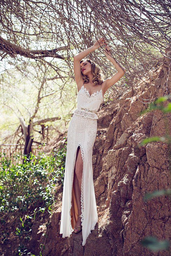 julie vino rose wedding dress 2014