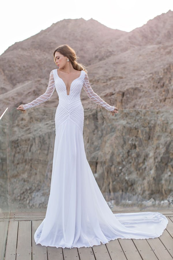 julie vino beautiful wedding dress