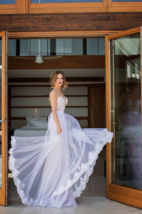 Julie vino wedding dress Mariposa 1
