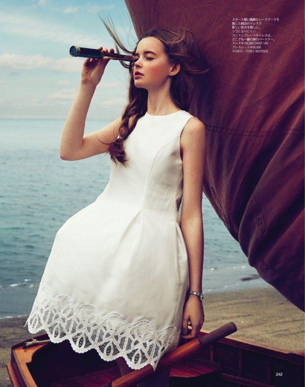 alexandra smit in white dress