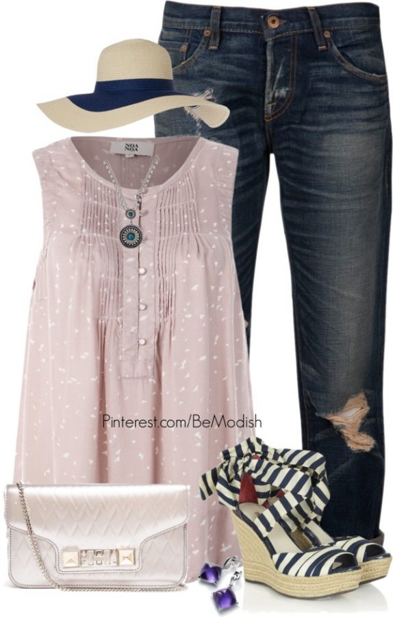 casual weekend polyvore 1