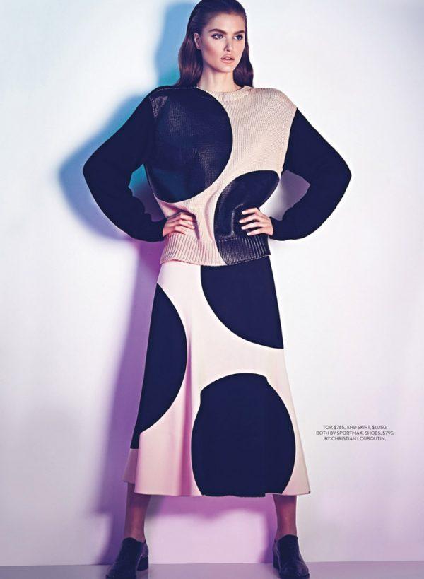 katie fograty for fashion magazine 2