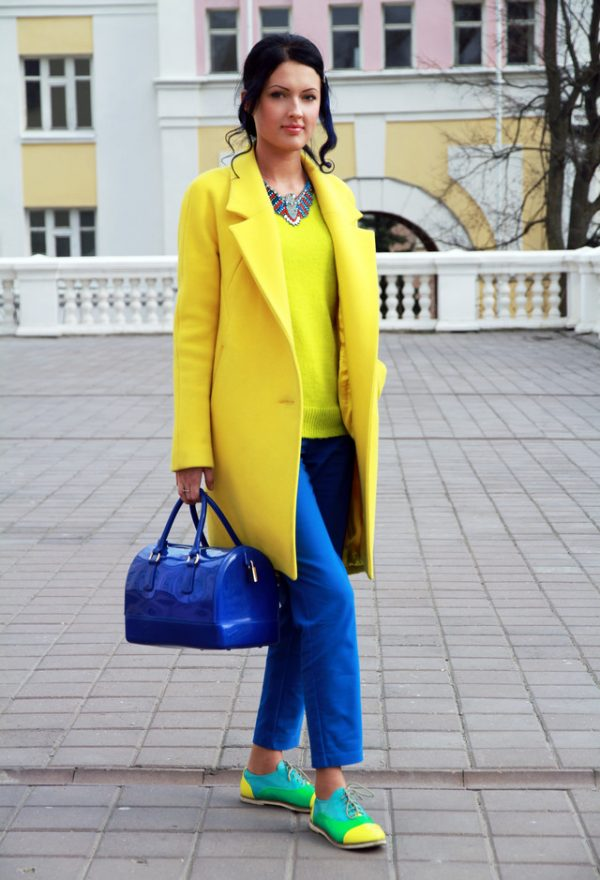 kriza-yellow-bon-prix-coats~color blocking