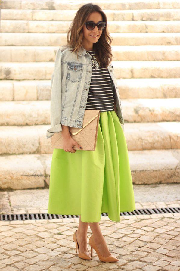 light green midi