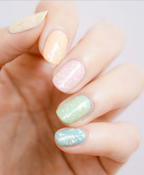 pastel easter nail art - Draw Spring On Your Nails : Spring Pastel Nails Collection - Be Modish