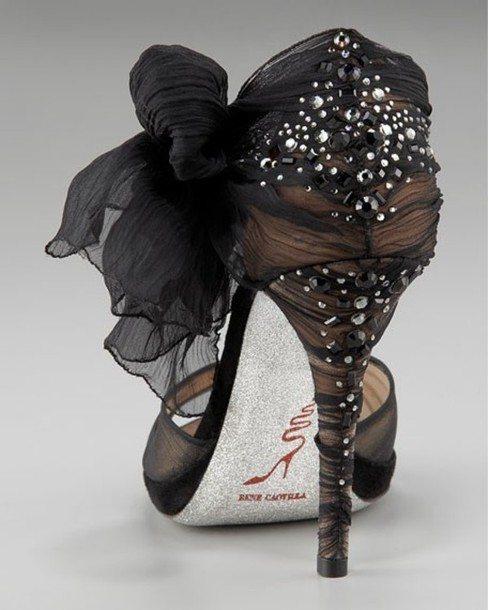 shoes-high-heels-gemstone-bow