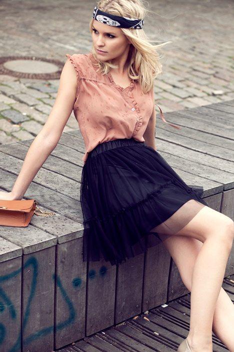 black tulle skirt 36