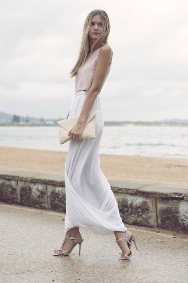how to wear white maxi skirt www pixshark images