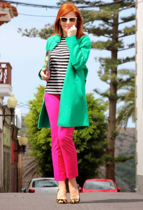 zara-verde-carolina-herrera-abrigos color blocking